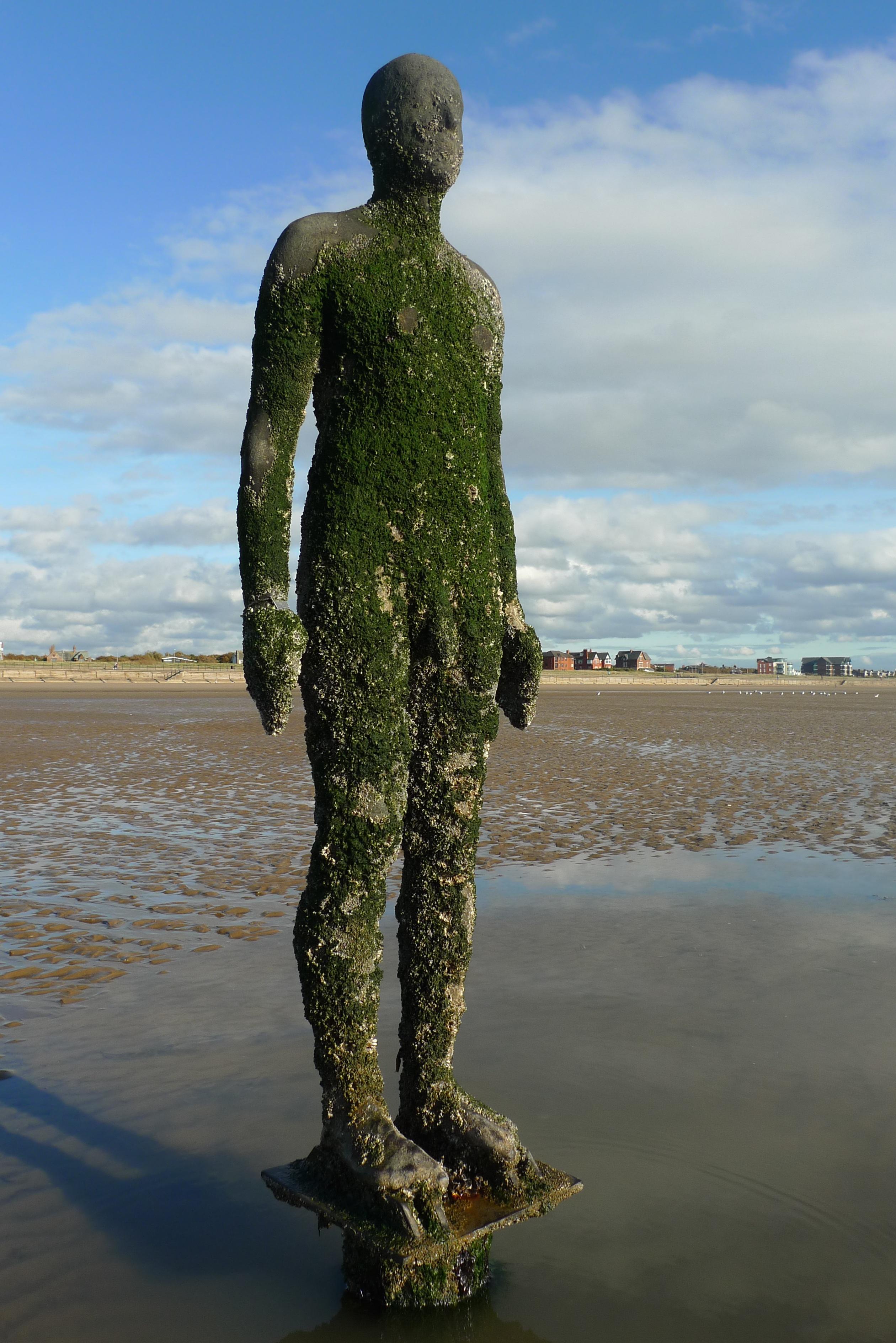 beach art  u2013 antony gormley u2019s another place
