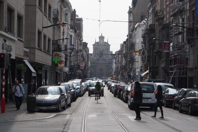 Brussels traffic
