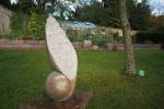 Art in the formal garden Cheeseburn