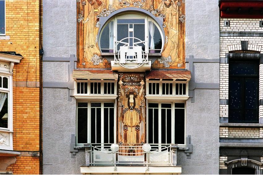 Maison Cauchie, Art Nouveau Brussels