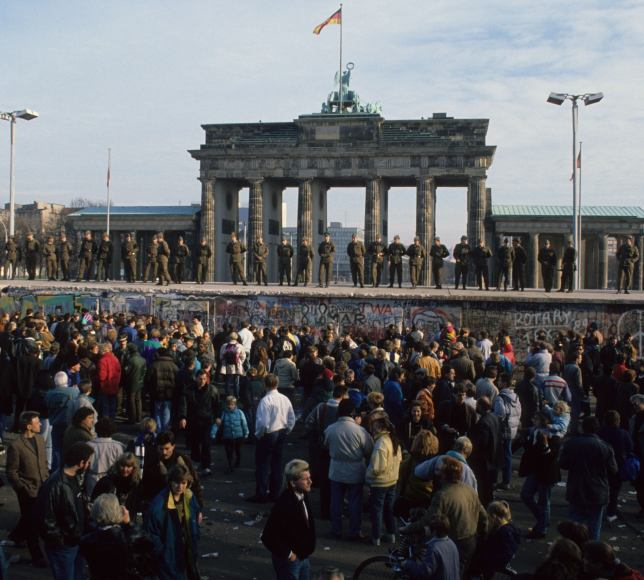 Berlin Wall after the fall in 1989 c/o Visit Berlin and Uwe Gerig Bild