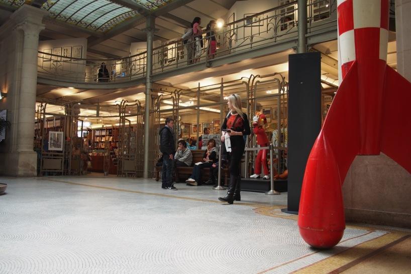 Brussels Comic Art Museum in Art Nouveau warehouse