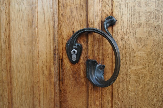 Horta door handle design Brussels