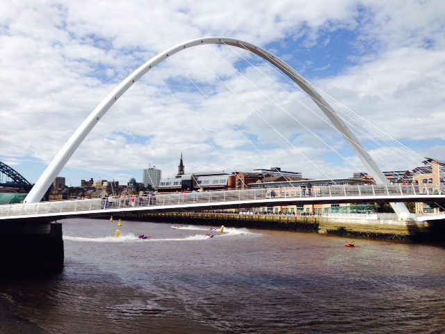 Millennium Bridge Newcastle and Gateshead