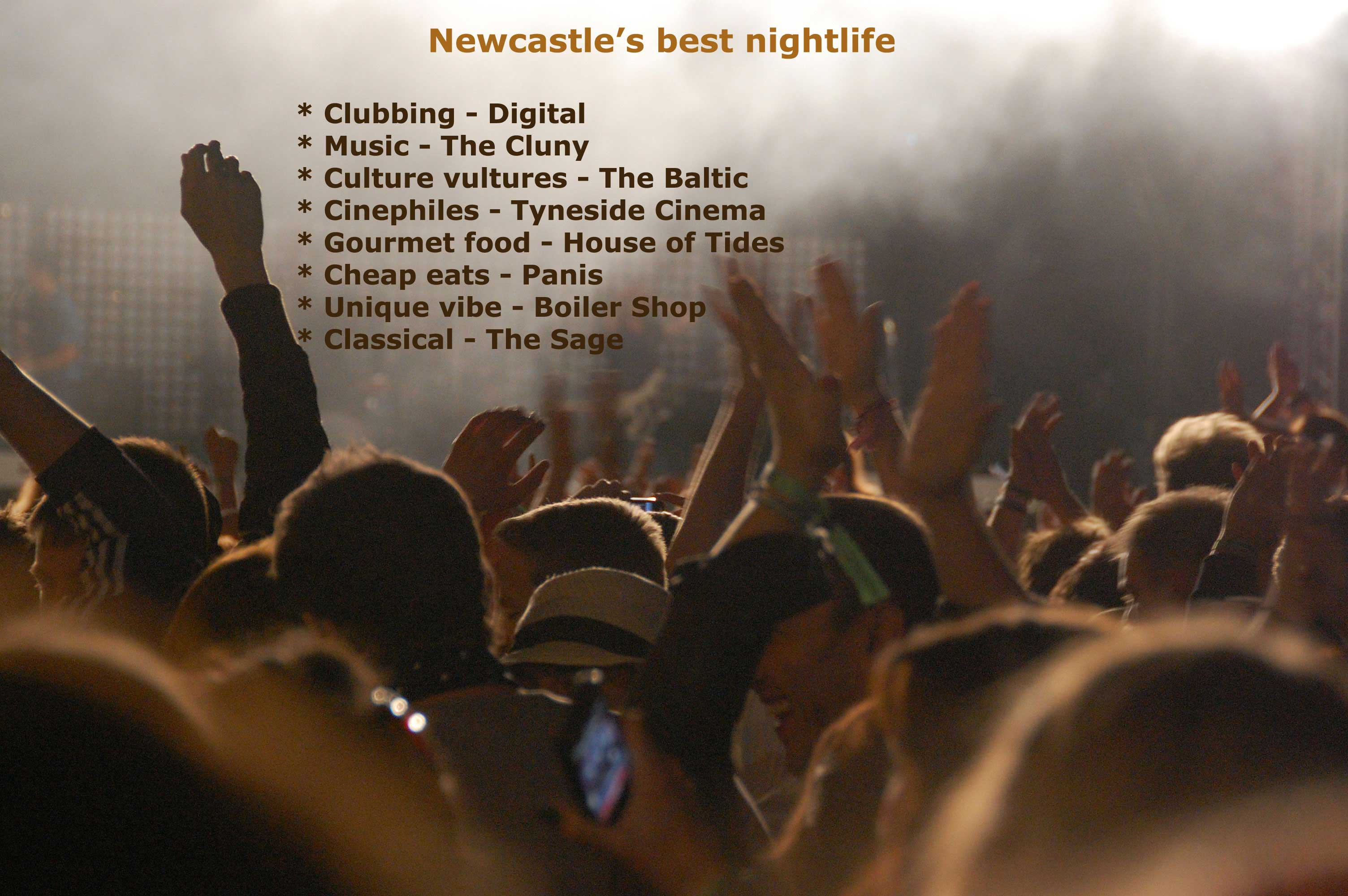 Newcastle uks top city travel destination tammy tour guide newcastles best nights out geenschuldenfo Choice Image