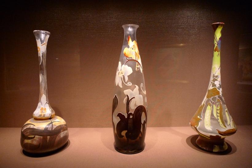 Art Nouveau glassware