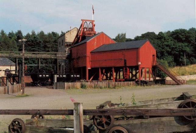 Mine at Beamish
