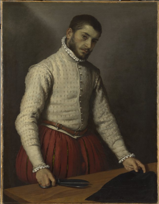 The Tailor by Moroni c/o The National Gallery London