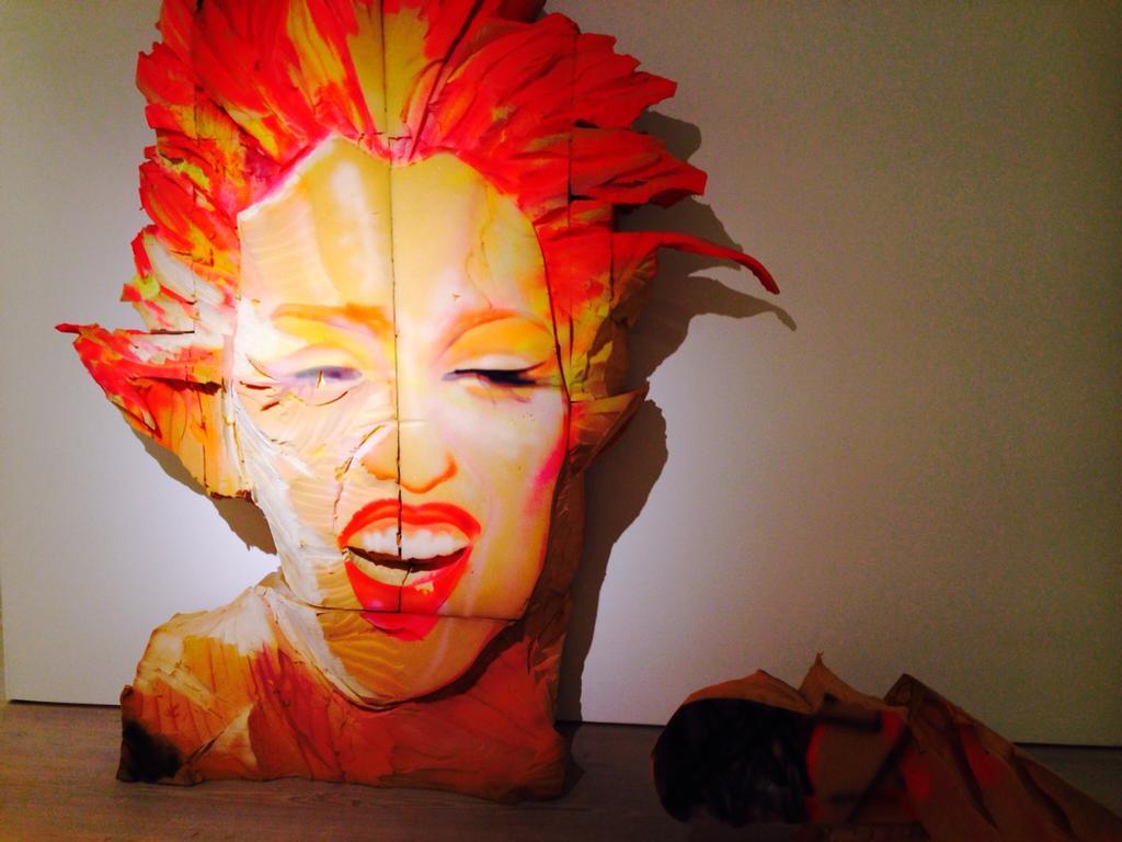 Marilyn Monrow in foam - Pop Art at the Saatchi