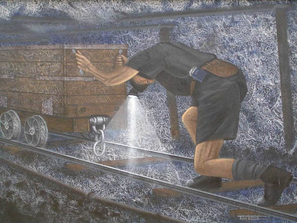 Tom Lamb painting - c/o Tom Lamb
