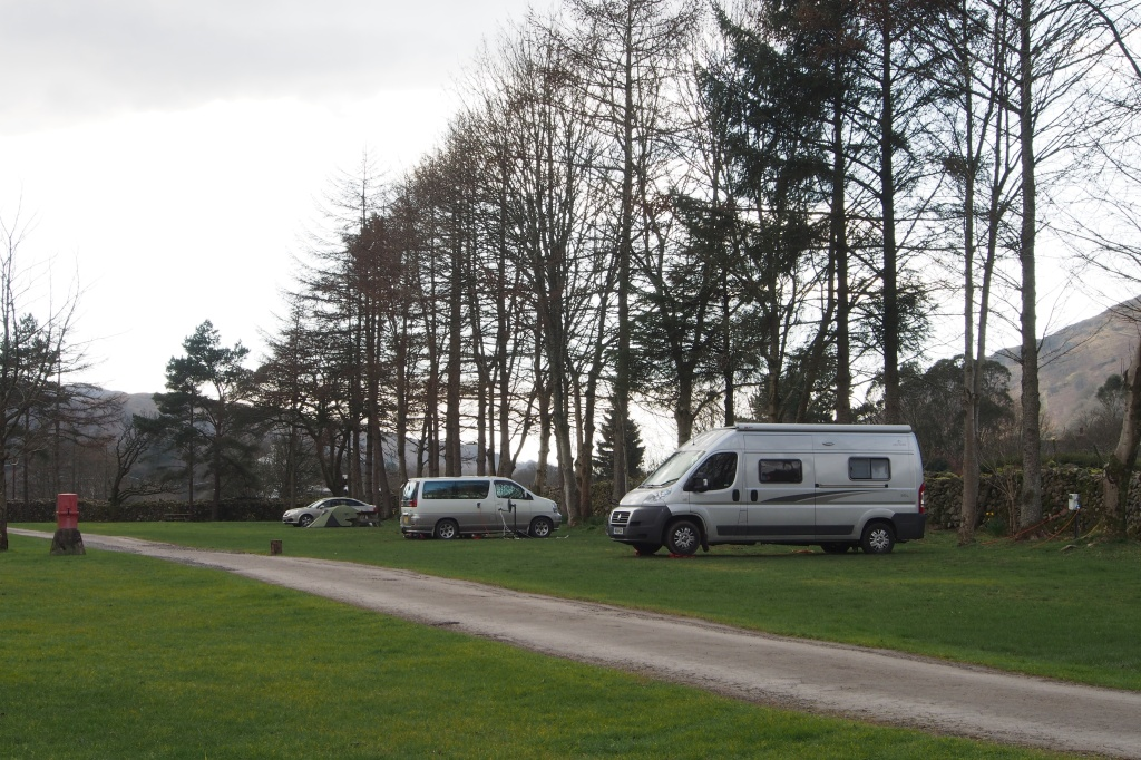 Eskdale Camping site at Boot