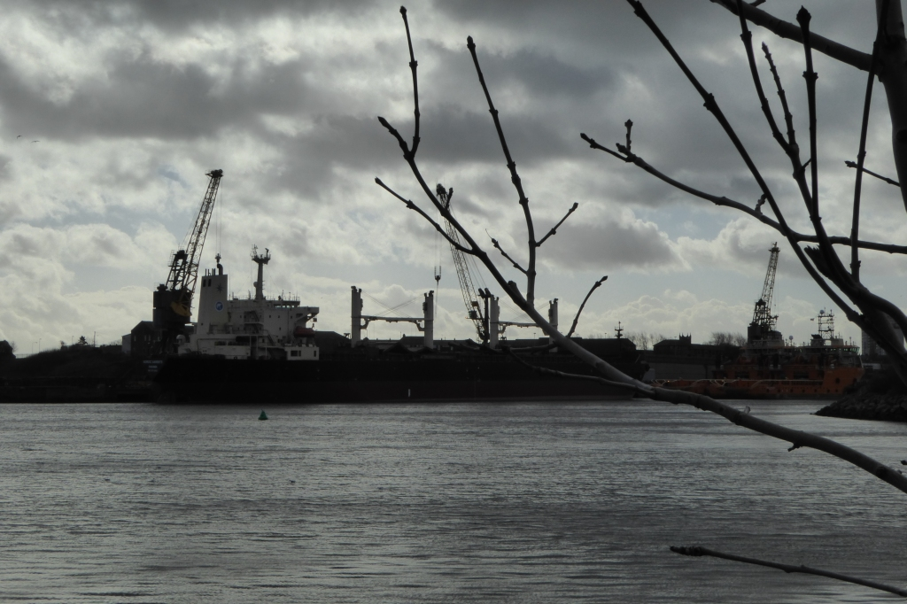Sunderland shipbuilding skyline