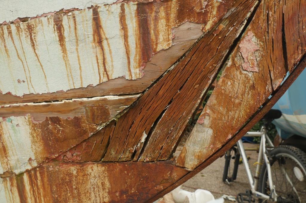 Señora wooden boat