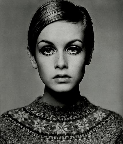 Barry Lategan's iconic photograph of Twiggy