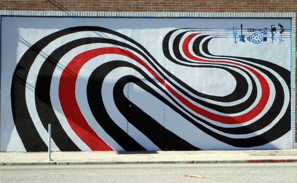 Figure 8 mural in LA
