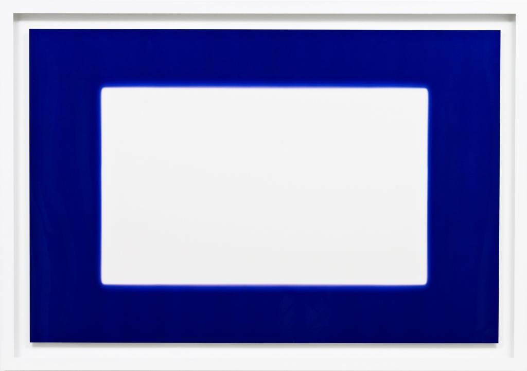 White in Blue by Garry Fabian Miller courtesy pf HackelBury Fine Art