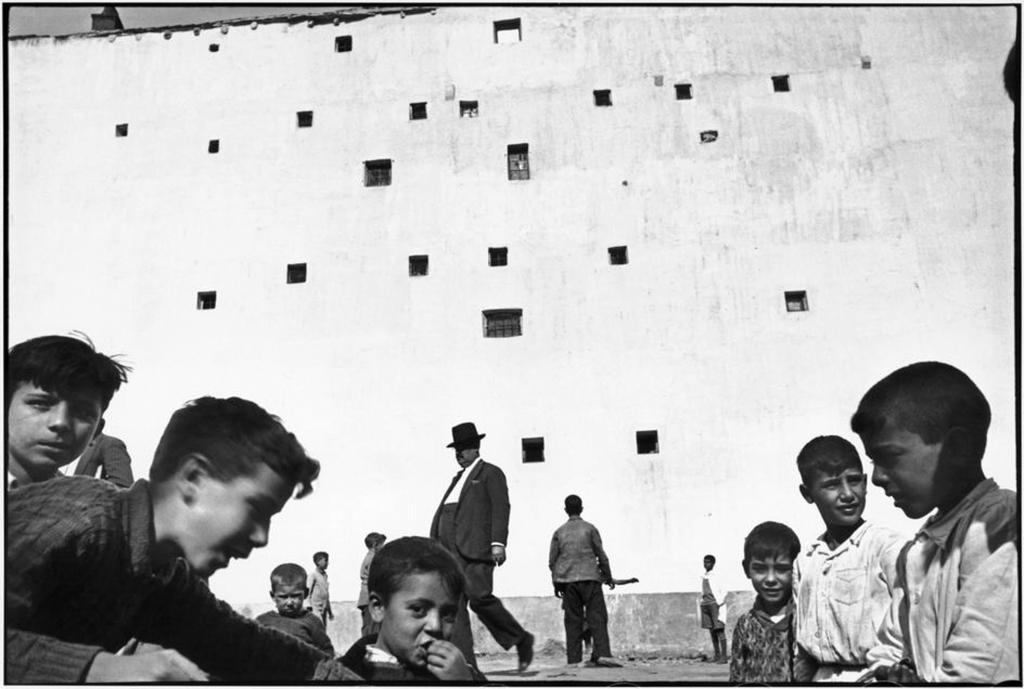 Madrid by Henri Cartier-Bresson c/o  Henri Cartier-Bresson/Magnum/Eric Franck Fine Art