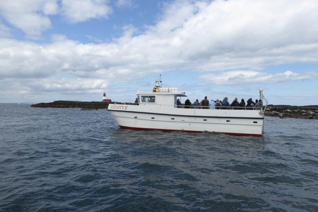 Boat trip to Farnes