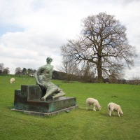 Henry Moore - Yorkshire Sculpture Park - Art in the Park