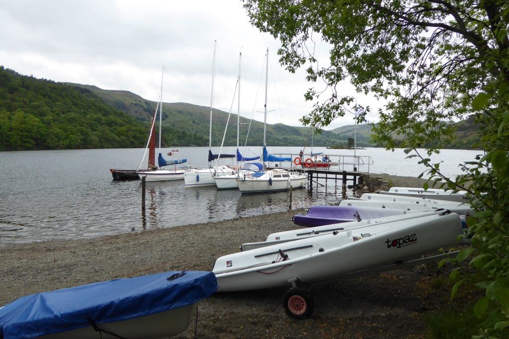 Ullswater Glenridding sailing clu