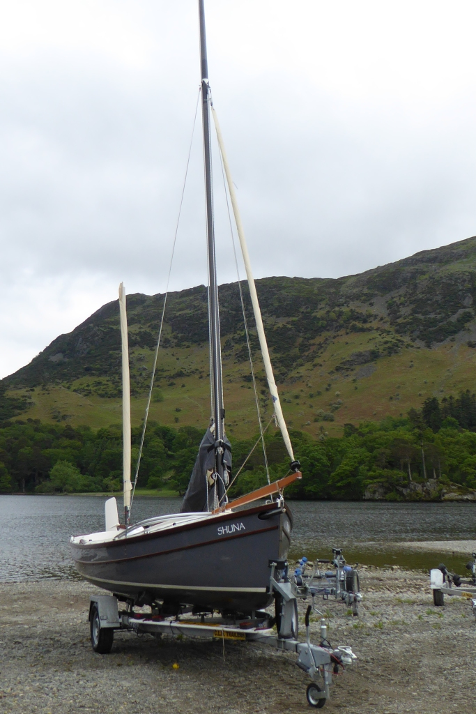 Swallow at Ullswater Glenridding sailing club