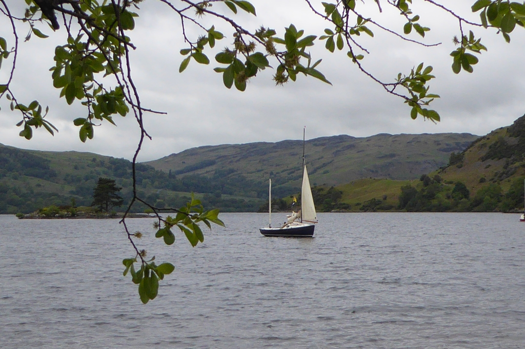 Swallow boats at Ullswater