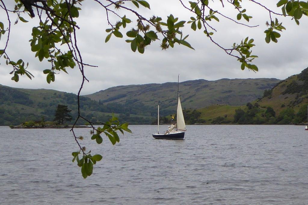 Swallow boats at Ullswater