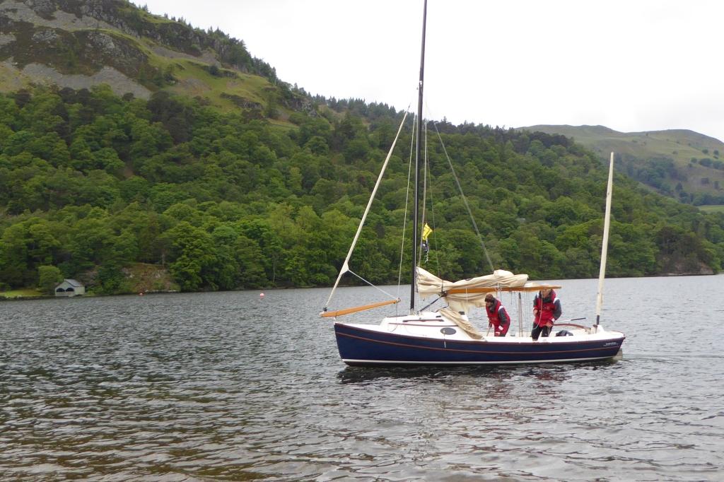 Ullswater sailing