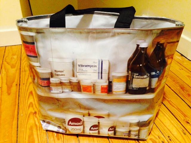 Damien Hirst designer bag