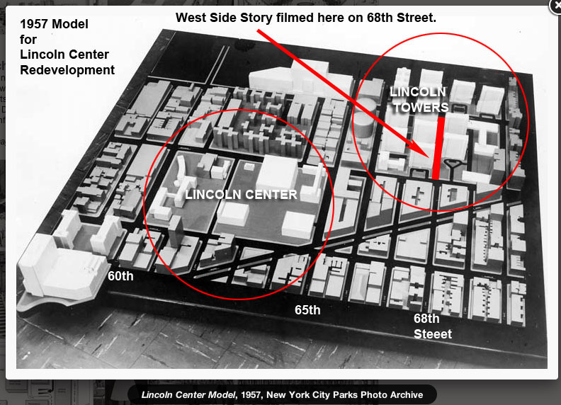 West Side Story locations