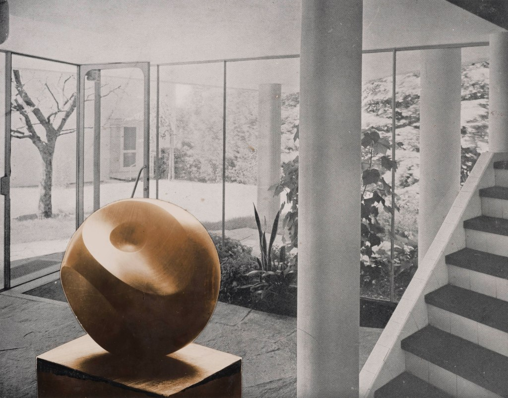 Photo collage with Helicoids c/o The Hepworth Collection
