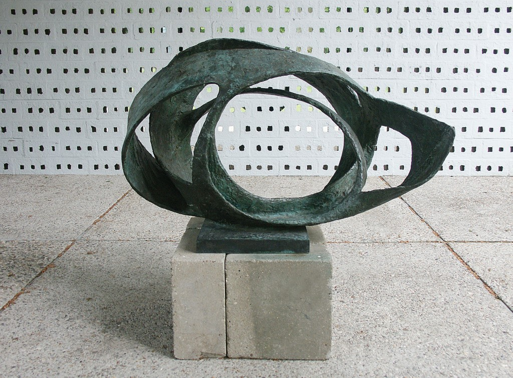 Oval Form by Barbara Hepworth