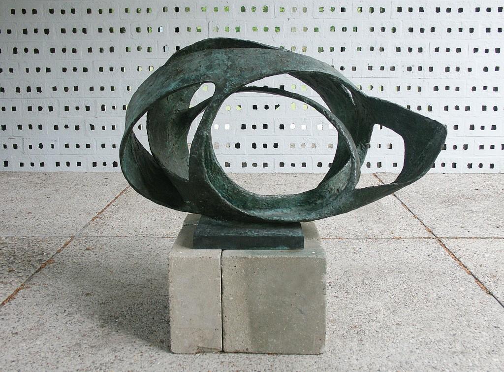 Oval Form by Barbara Hepworth