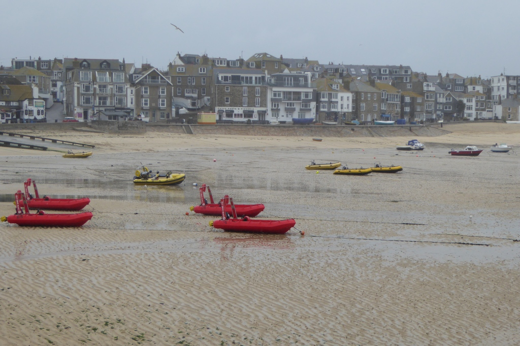 St Ives  and its famous changing light
