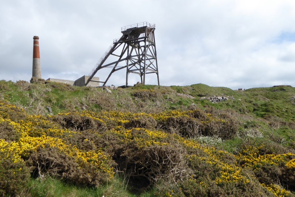 Mining coast Cornwall