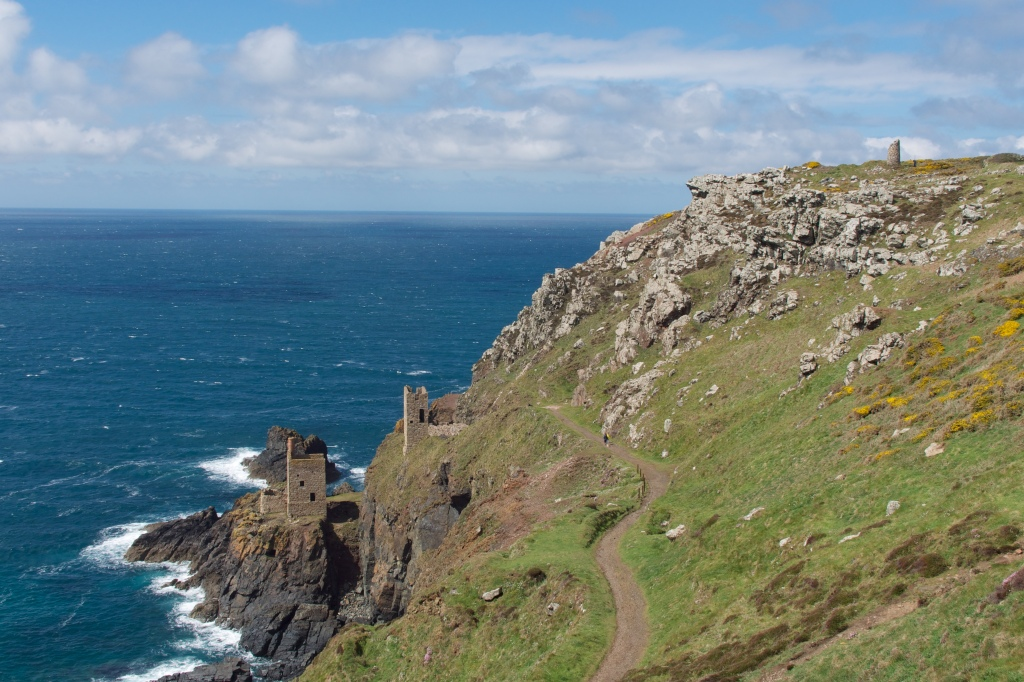 Cornwall's dramatic coastal scenery