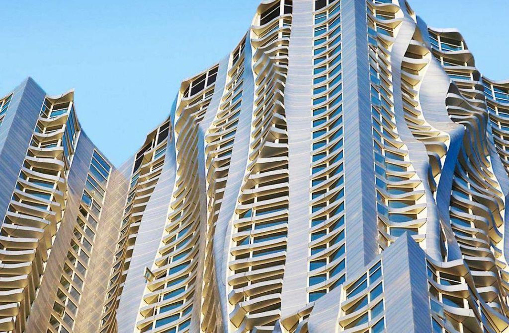 Frank Gehry's 8 Spruce Street