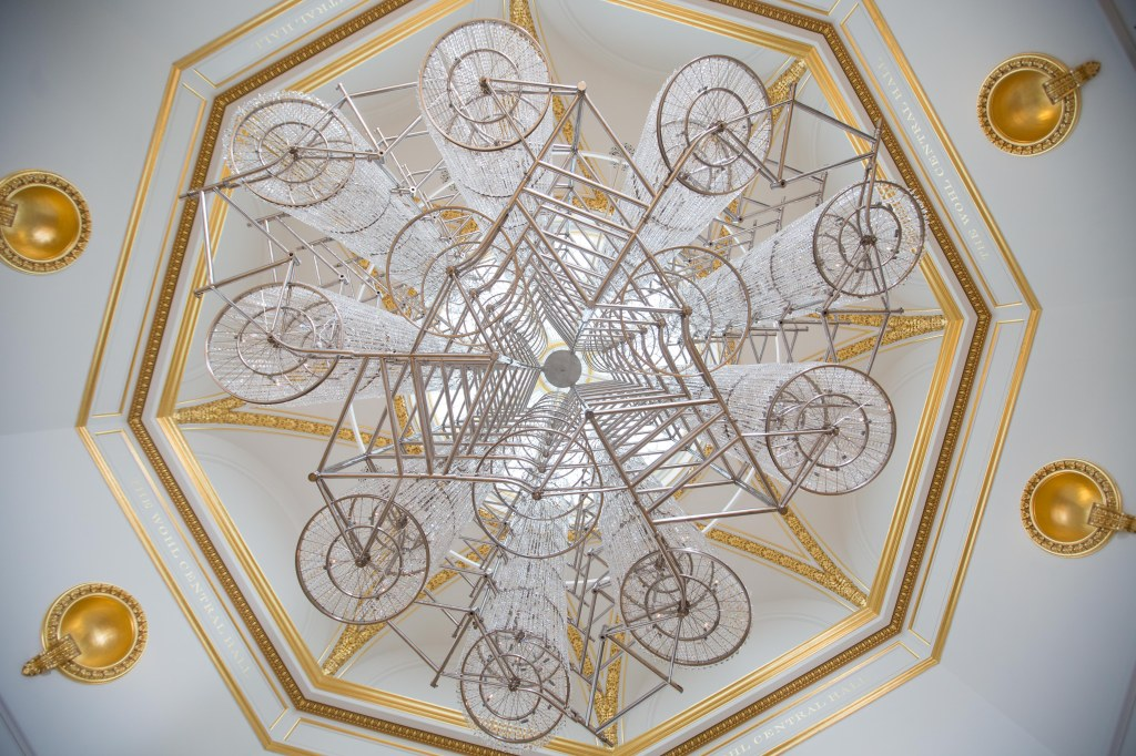 Ai Weiwei, Bicycle Chandelier