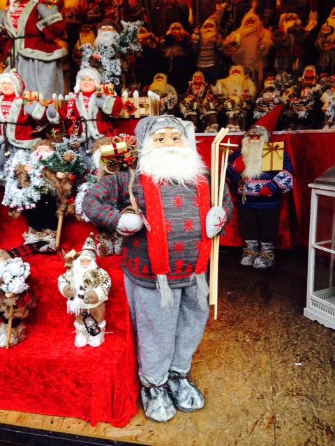 Santa in Manchester