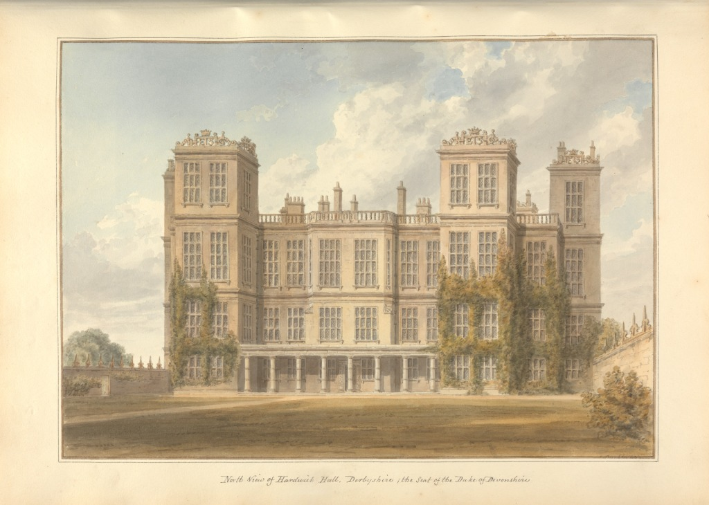 Hardwick Hall c/o Yale Center for British Art and Paul Mellon Collection