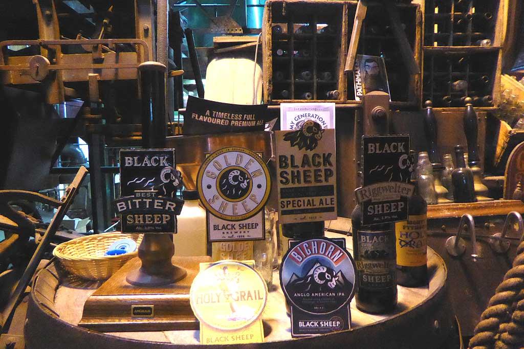 Black Sheep beers Masham