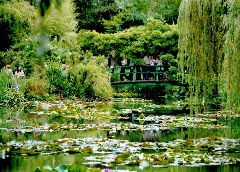 Giverney Monet gardens France