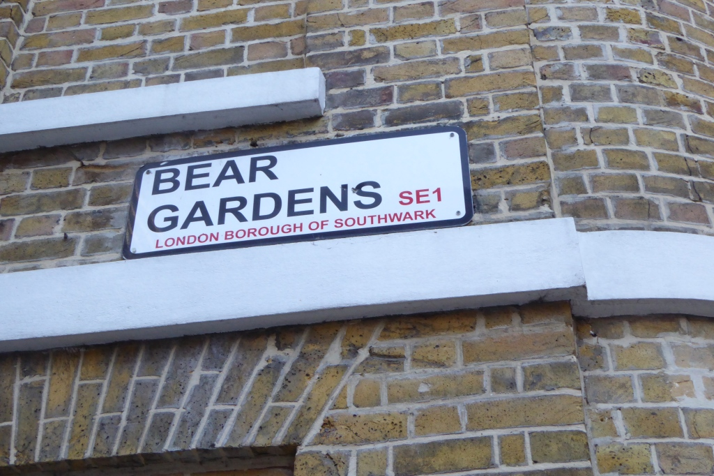 Rose Theatre sign Bear Gardens