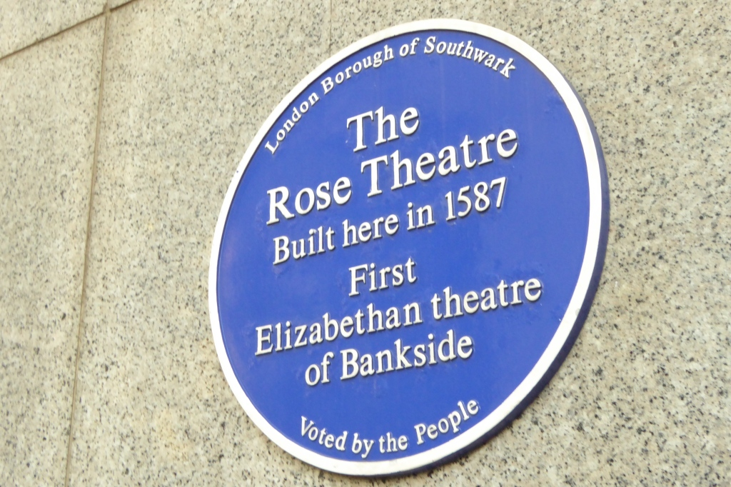 Rose Theatre sign