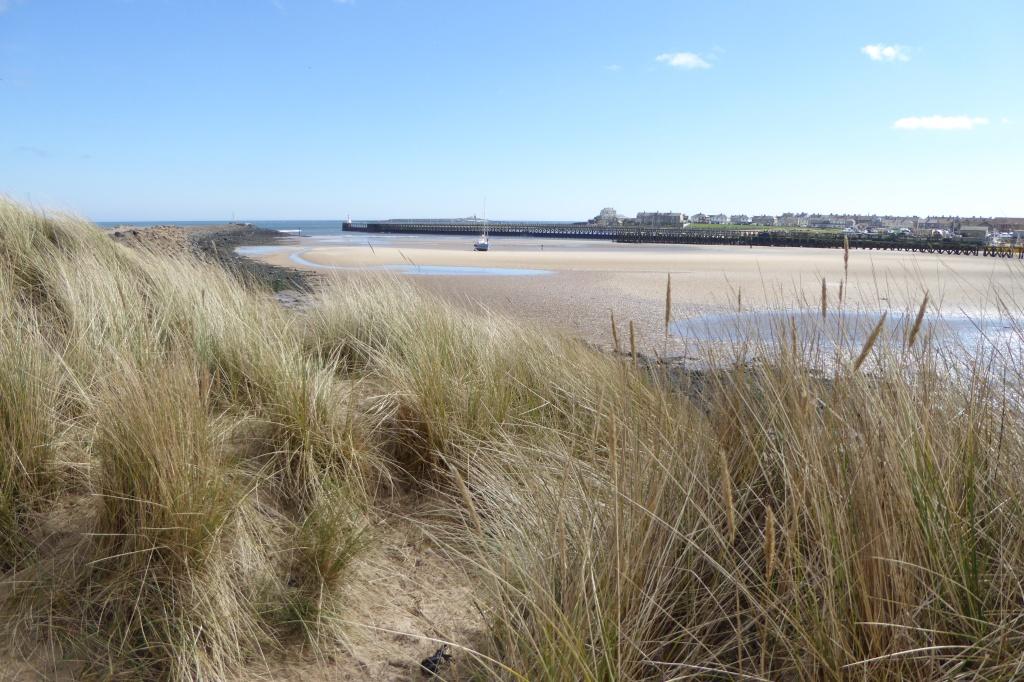 Amble Warkworth beach Northumberland