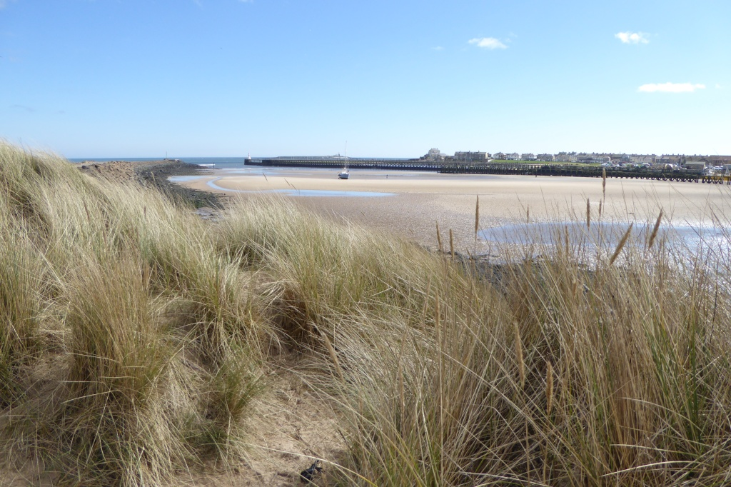 Amble Warkworth beach Northumberland