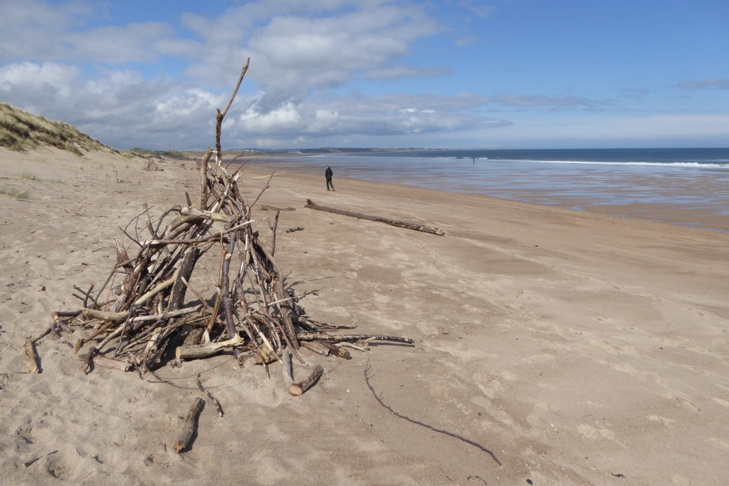 Amble Warkworth beach