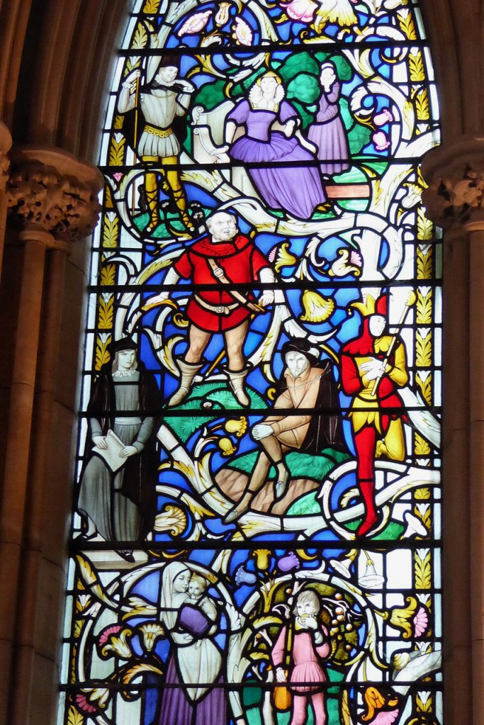 London Southwark Cathedral window