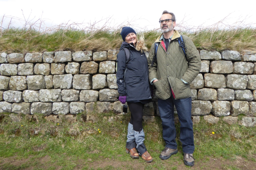 Hadrian's wall walkers