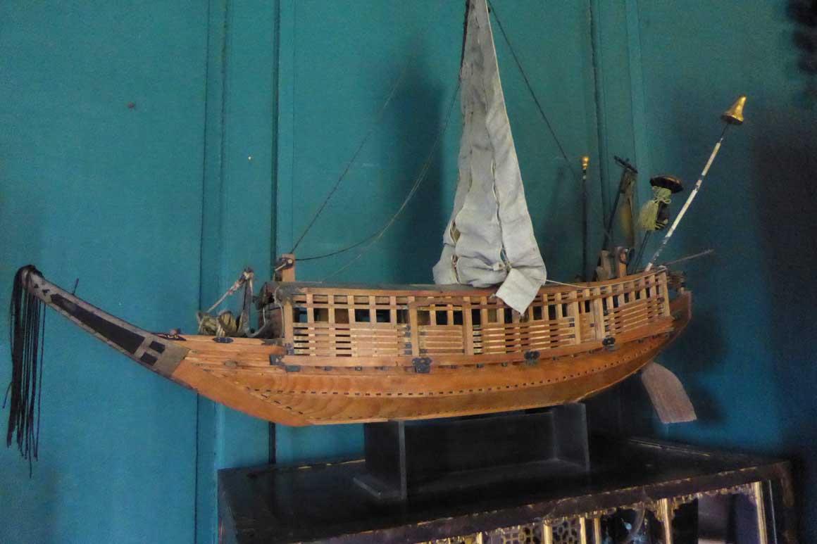 Model ship -Snowshill